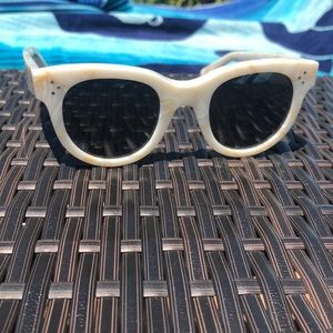 Celine audrey white sunglasses